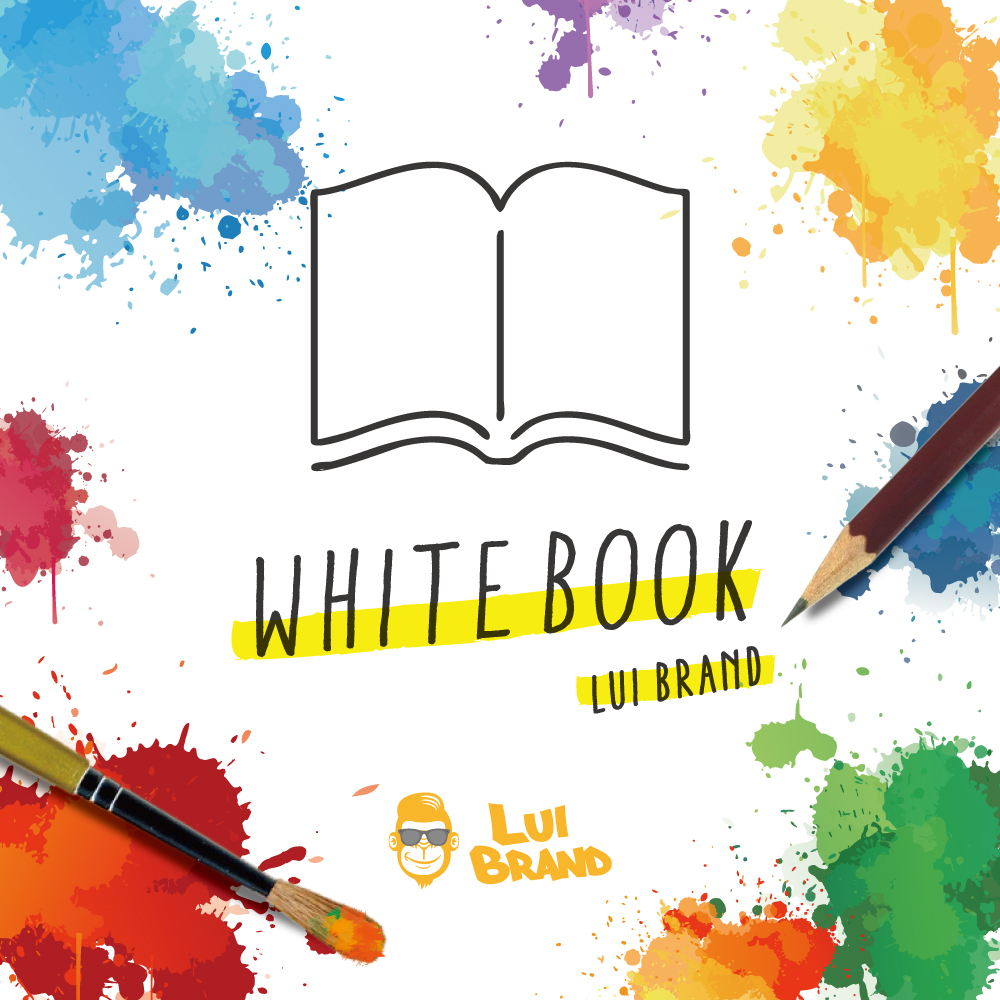LUI BRAND / WHITE BOOK